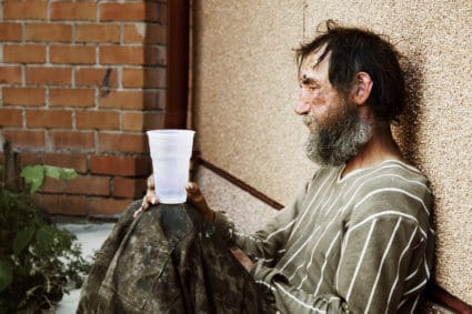 Homeless Alcoholism Is A Major Problem In Many American Cities With Tragic Consequences