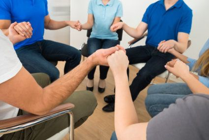 Group Prayer Is An Important Part Of Faith-Based Treatment That Helps To Build Connection