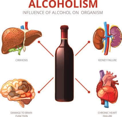 Alcohol-Linked Diseases Can Negatively Impact Many Different Body Systems