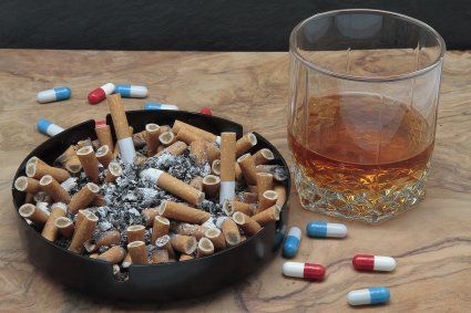 Thumbnail photo of Nicotine and Alcohol
