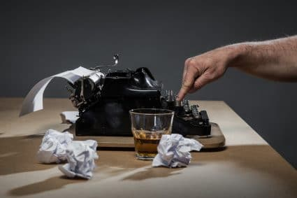 Thumbnail photo of Whiskey and the Written Word: The Writer and Excessive Alcohol